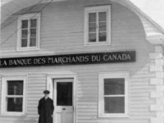 Banque provinciale vers 1915 - Ville de Saint-Tite