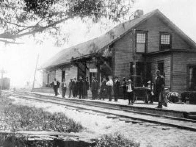 Gare début du XXe siècle - Ville de Saint-Tite