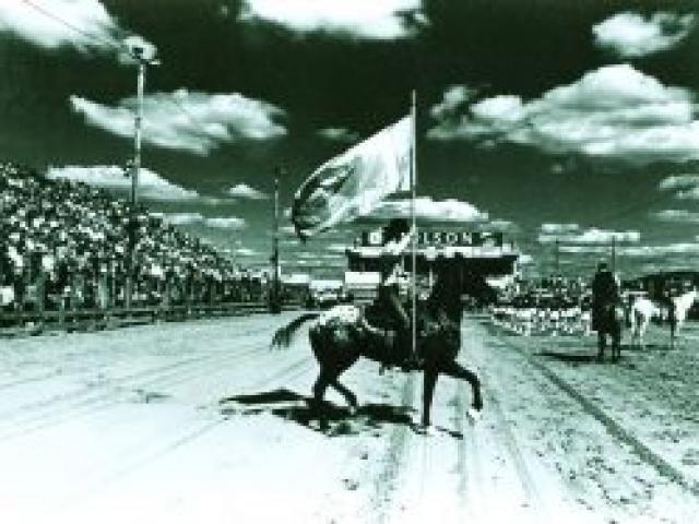 Rodéo Festival western de St-Tite en 1970 - Ville de Saint-Tite
