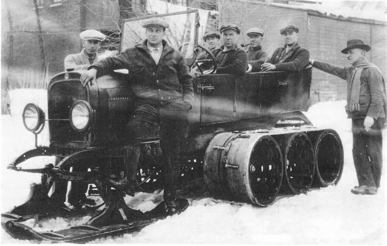 Snowmobile de Gaston Fiset - Ville de Saint-Tite