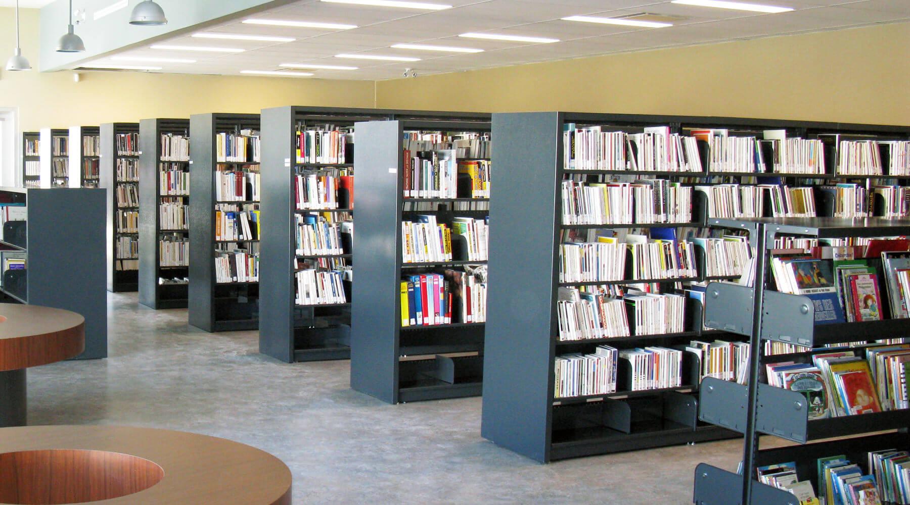 En-tête - Bibliothèque Marielle-Brouillette - Ville de Saint-Tite