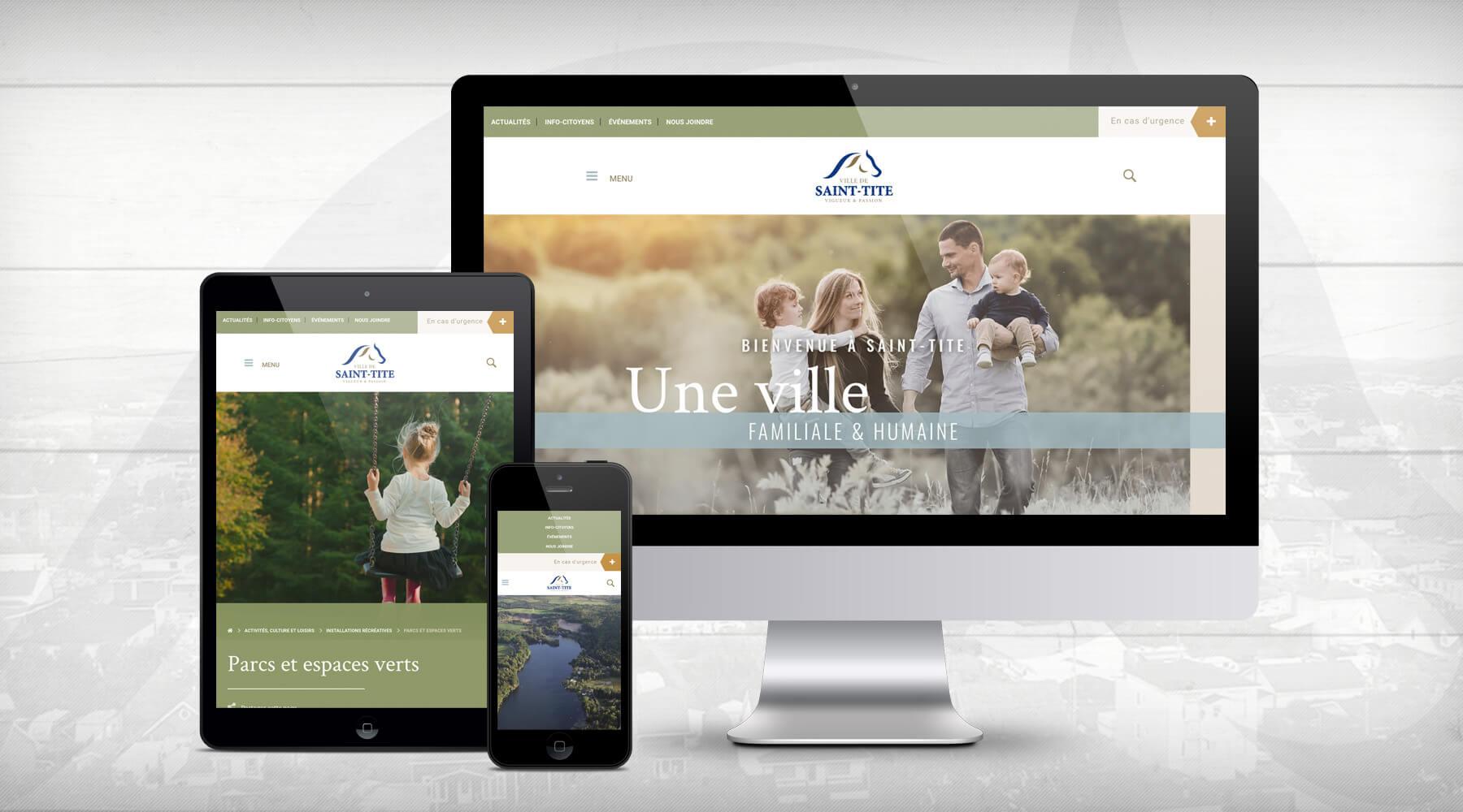 Actualité - Bienvenue dans le nouveau site internet de la Ville de Saint-Tite