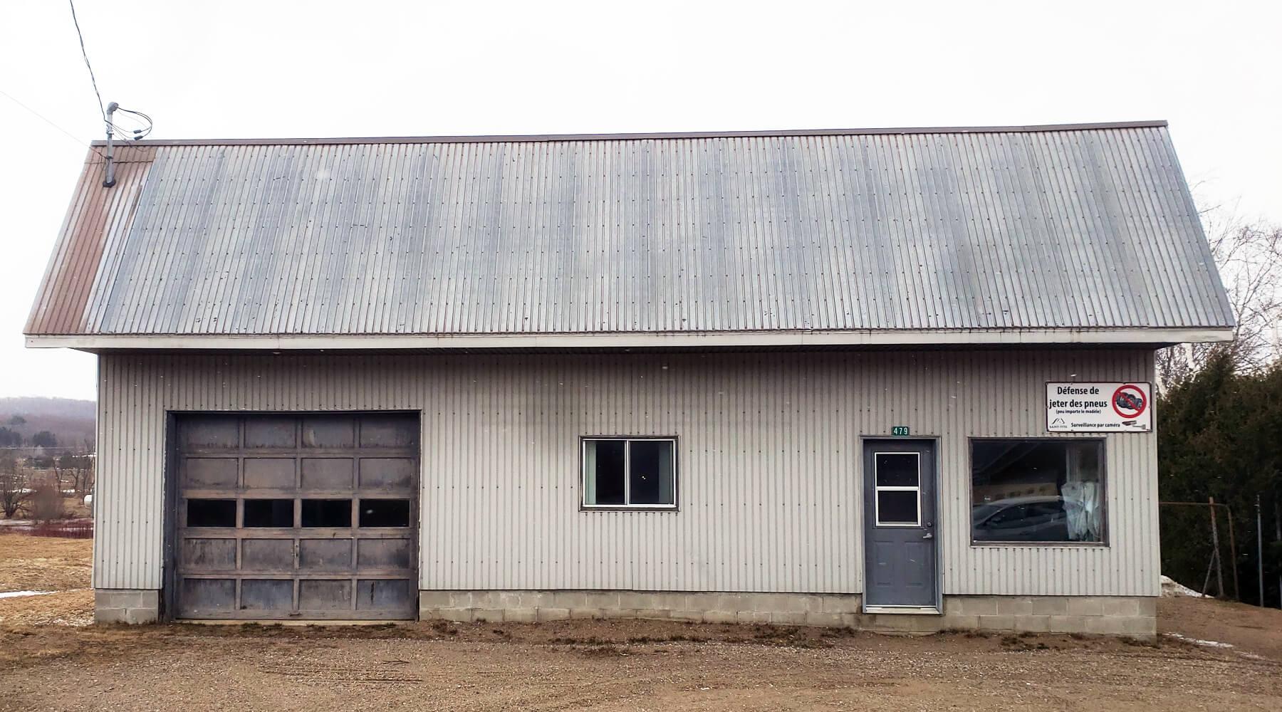 Entrepôt Haut-du-Lac-Sud - Ville de Saint-Tite