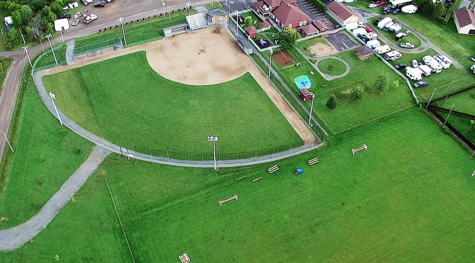 En-tête - Terrains sportifs - Ville de Saint-Tite