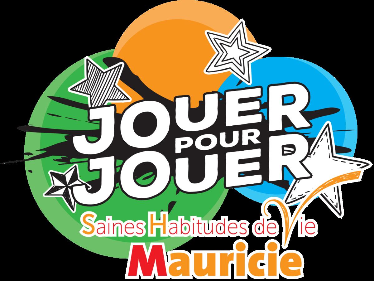 Logo - Jouer pour jouer - Saines habitudes de vie Mauricie