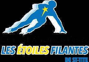 Logo - Club de patinage de vitesse - Les étoiles filantes de St-Tite