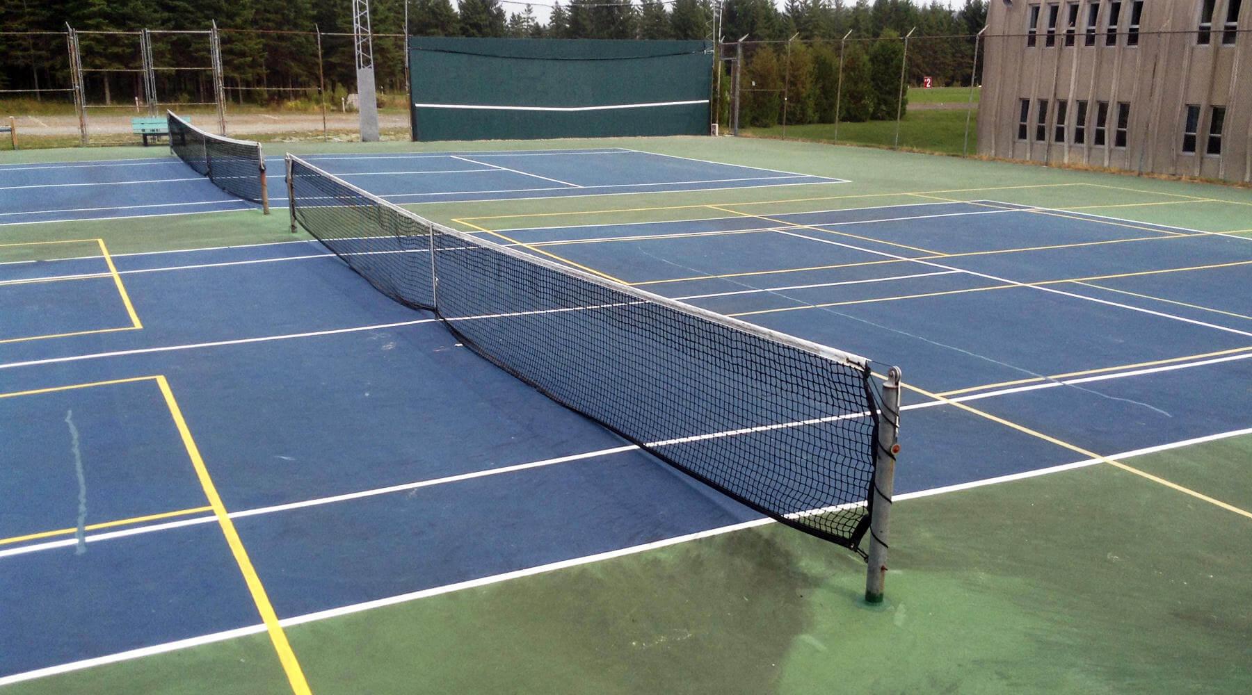 Terrains de tennis et pickleball - Ville de Saint-Tite